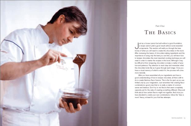 Artisan Chocolate section opener
