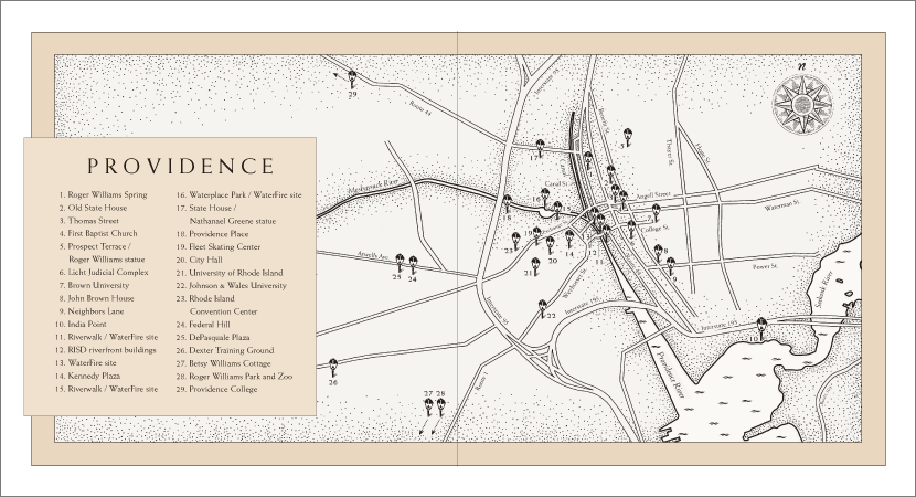 Providence endpapers