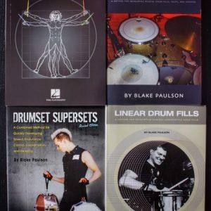 Drumset Method Books (Hard Copy)