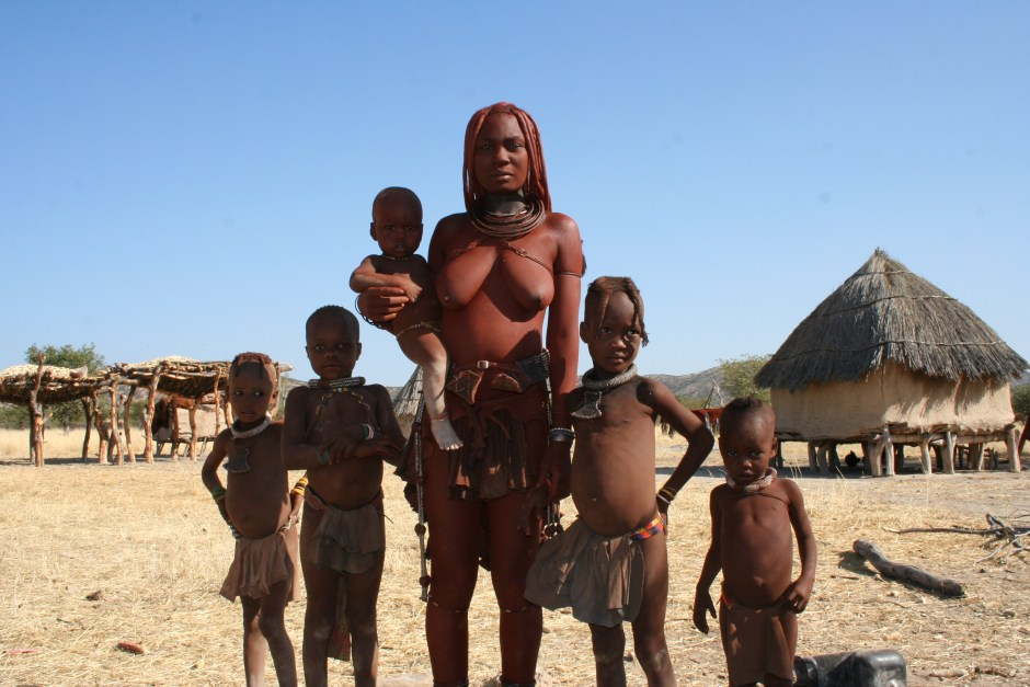 The Himba People. Source: Jescapism at Wikipedia