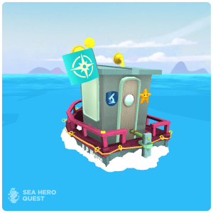 My Sea Hero boat!