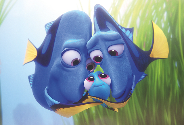 finding dory disney pixar parents