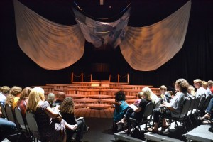 The Black Box Theater (The Tempest performance)