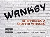Cover page of the satirical art book, Wanksy