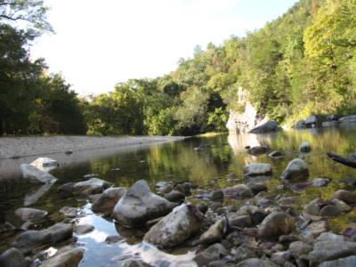 Sylamore Creek at Blanchard Springs