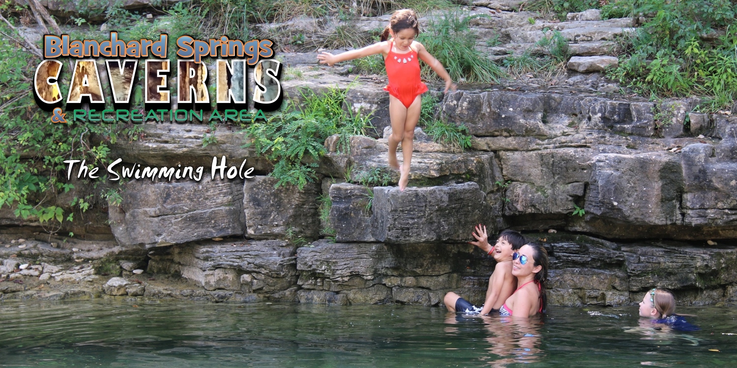 Blanchard Springs Swimming