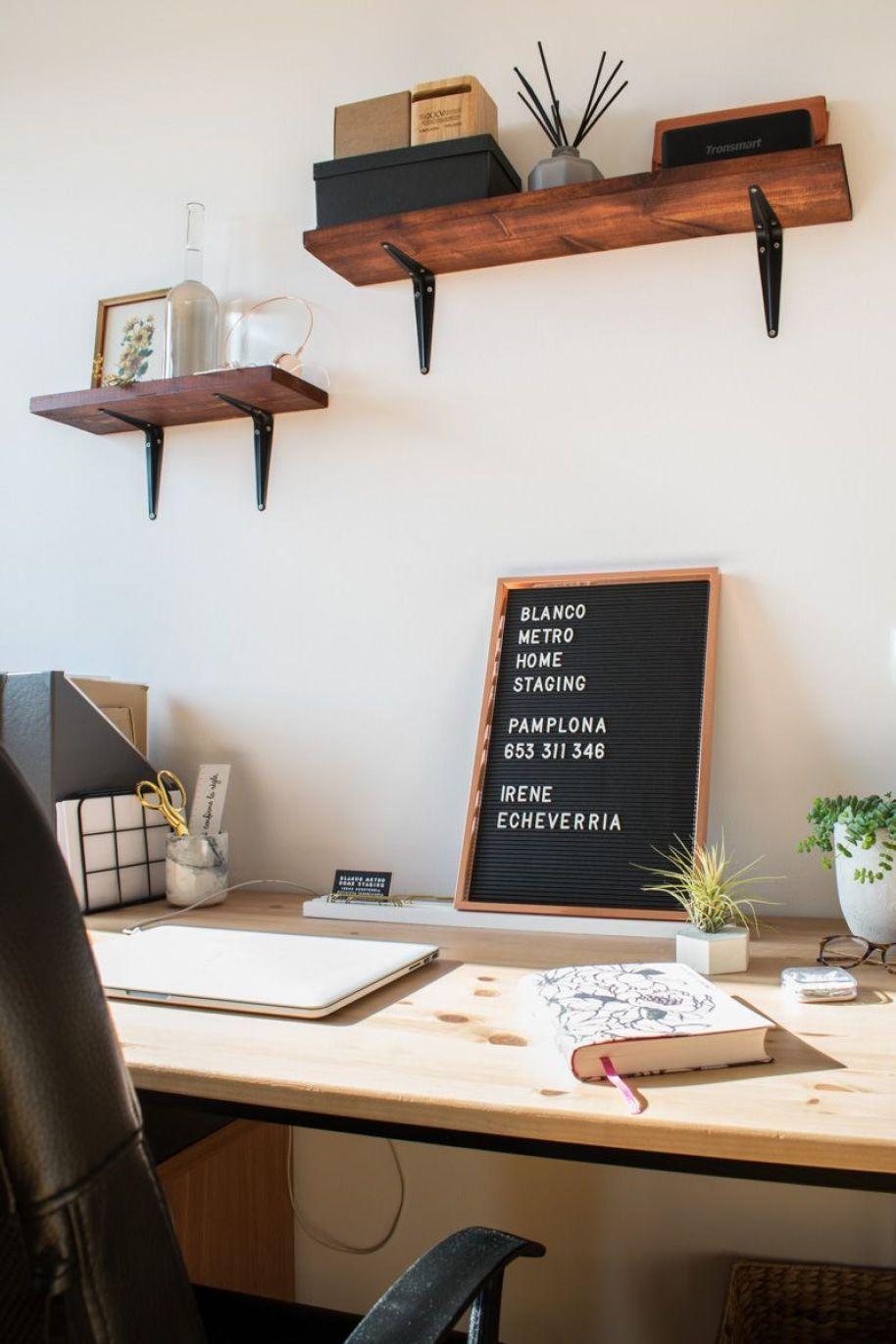 Antes y después - oficina en casa