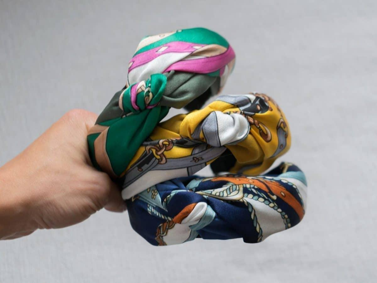 Compras en Aliexpress - diademas turbante de colores