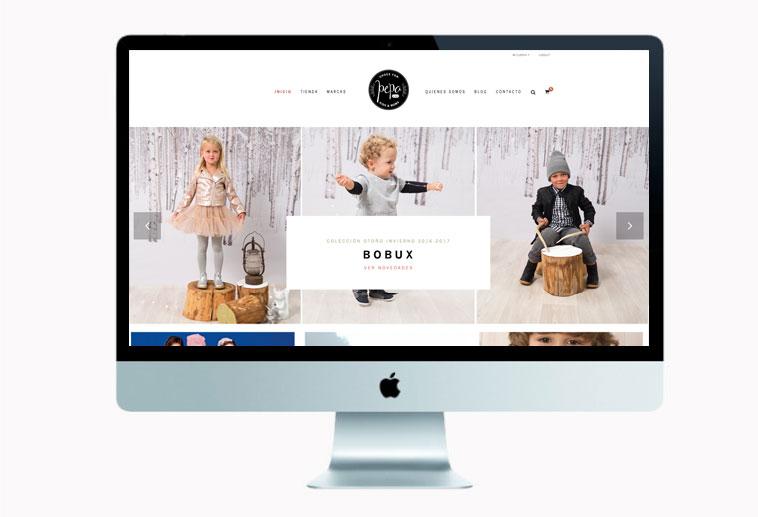 rebranding de una marca web