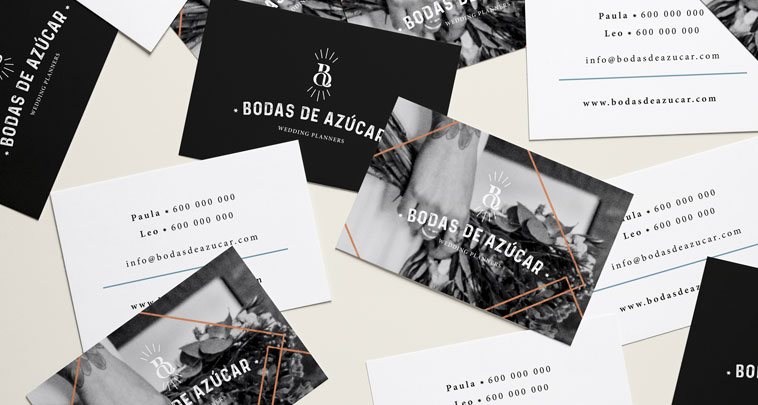 diseño de marca wedding planners