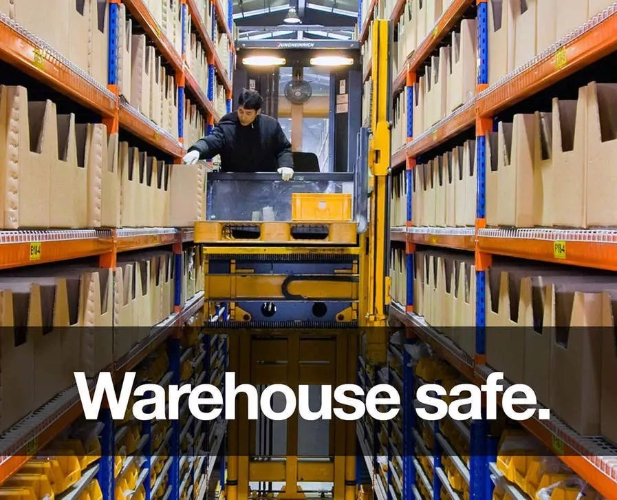 Warehouse safety & security