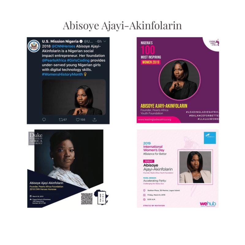 Abisoye Ajayi CNN HERO