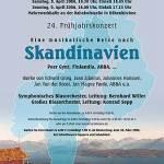 """Frühjahrskonzert 2006 """"Musikalische Reise nach Skandinavien"""""""