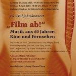 "Frühjahrskonzert 2007 ""Film ab!"""