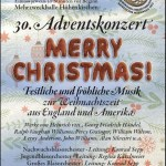 "Adventskonzert 2015 ""Merry Christmas!"""