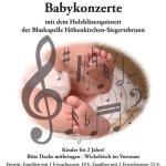Babykonzerte im Pfarrsaal am 12. November 2016