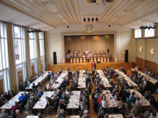 Saisonabschluss Frühschoppen Staufenhalle Plüderhausen