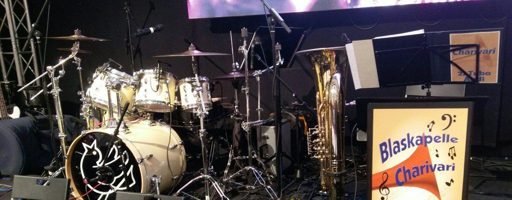 Blaskapelle Charivari - Schlagzeug, Tuba