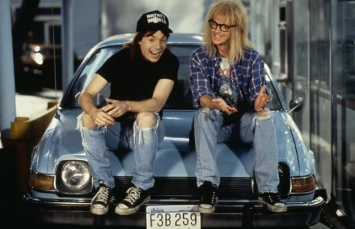 Waynes World, the perfect bridge between metal and grunge