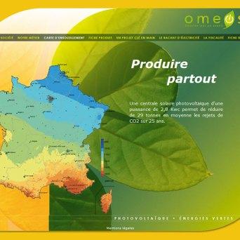Site de la société OMEOSUN