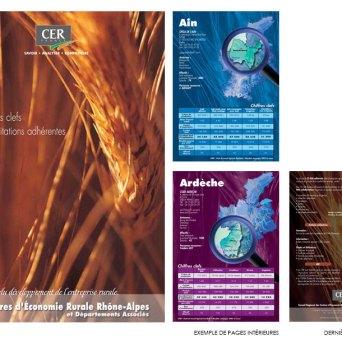 Brochure réalisée pour le CER Rhône-Alpes