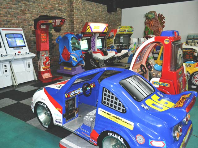 Arcade Games at Blasters Mossel Bay