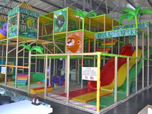Indoor Play Area at Blasters