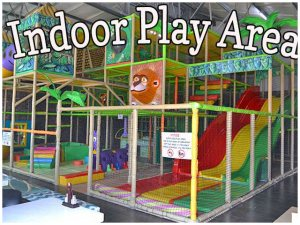 Indoor Play Area at Blasters Mossel Bay