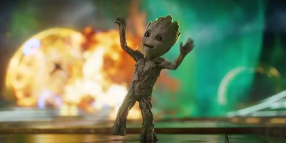 Image result for guardians of the galaxy 2 baby groot