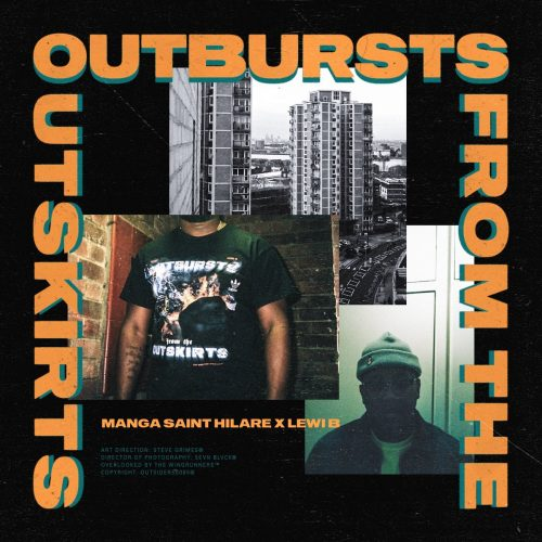manga, OUTBURSTS FROM THE OUTSKIRTS, grime, album review
