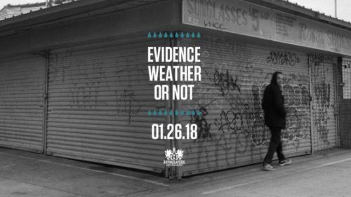 evidence, weather or not