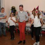 Das Jugendtanzcorps tanzte mit unserem künftigen Dreigestirn.