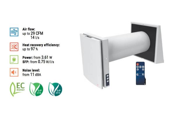 Vento Series Expert A50 1 Pro Features Single Room Ventilator
