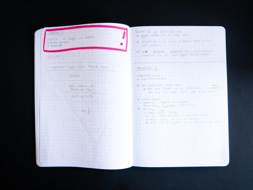 BlauerEisberg_Notizbuch_Markierung