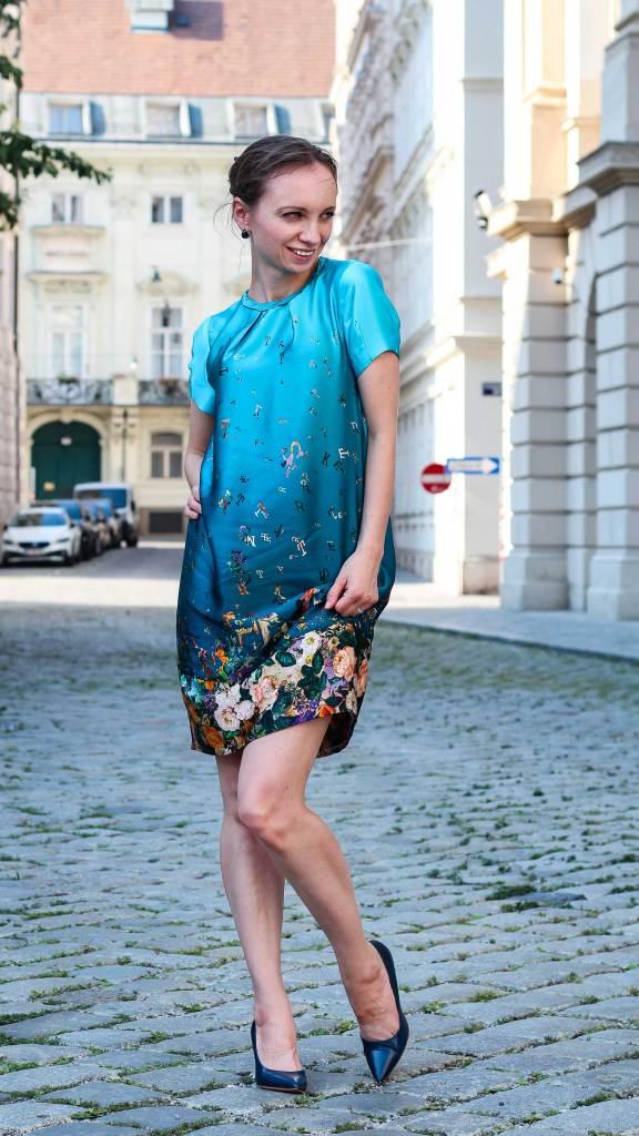 Cocoon Dress Burda Style Pattern