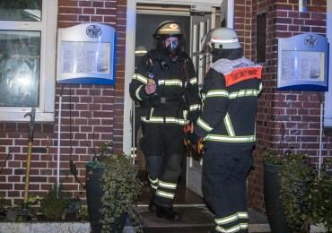 Brennender Mülleimer verraucht Restaurant komplett - Feuerwehr verhindert größeres Feuer