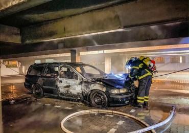 PKW brennt in Tiefgarage - Brandursache unklar!