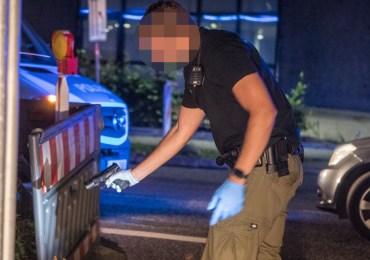 Waffe geladen und schussbereit unter Fahrersitz - Fahrer nach Verfolgungsjagd verhaftet
