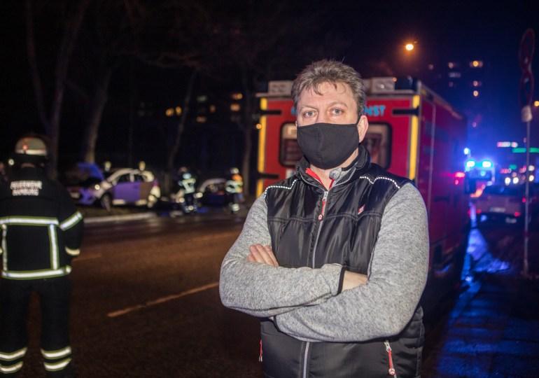 Thomas Hiller, der Lebensretter aus Jenfeld-Erzog einen Mann aus einem brennenden Fahrzeug!