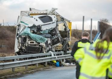 A1 gesperrt - Tödlicher LKW-Unfall sorgt für Sperrung