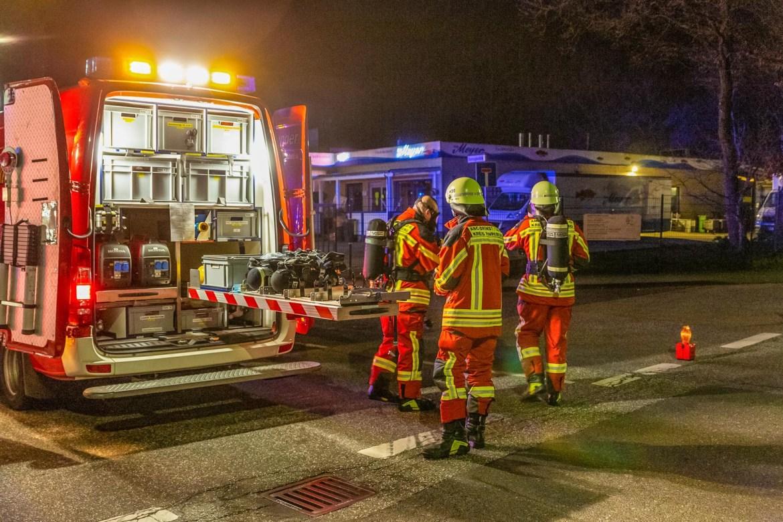Stickstoff tritt aus Tank aus! – Gebäude geräumt