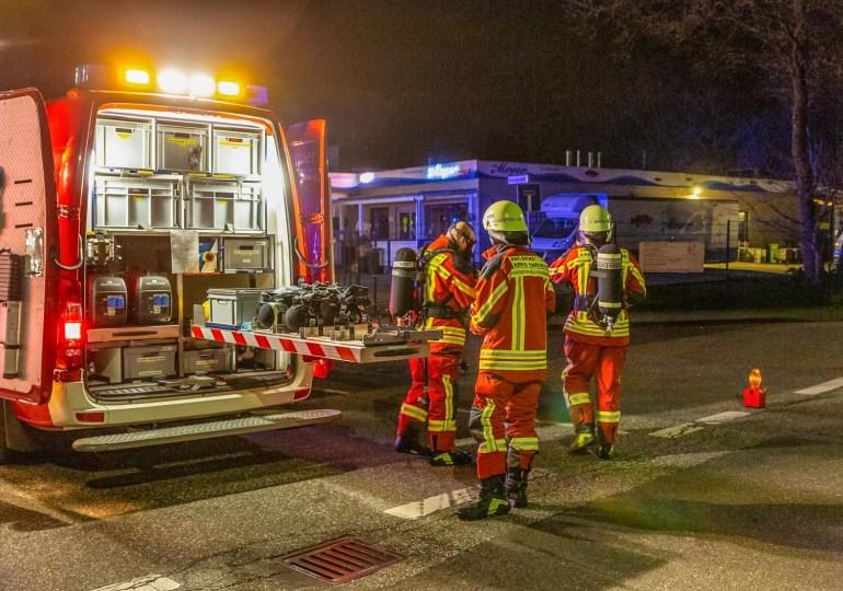 Stickstoff tritt aus Tank aus! - Gebäude geräumt