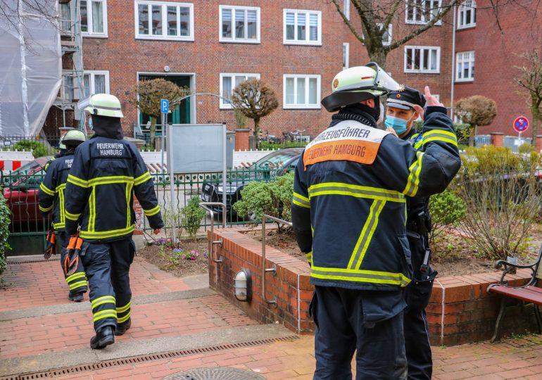 Mittagessen angebrannt - Feuerwehr rückt mit großem Aufgebot an!