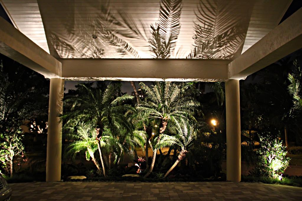 landscape lighting services miami