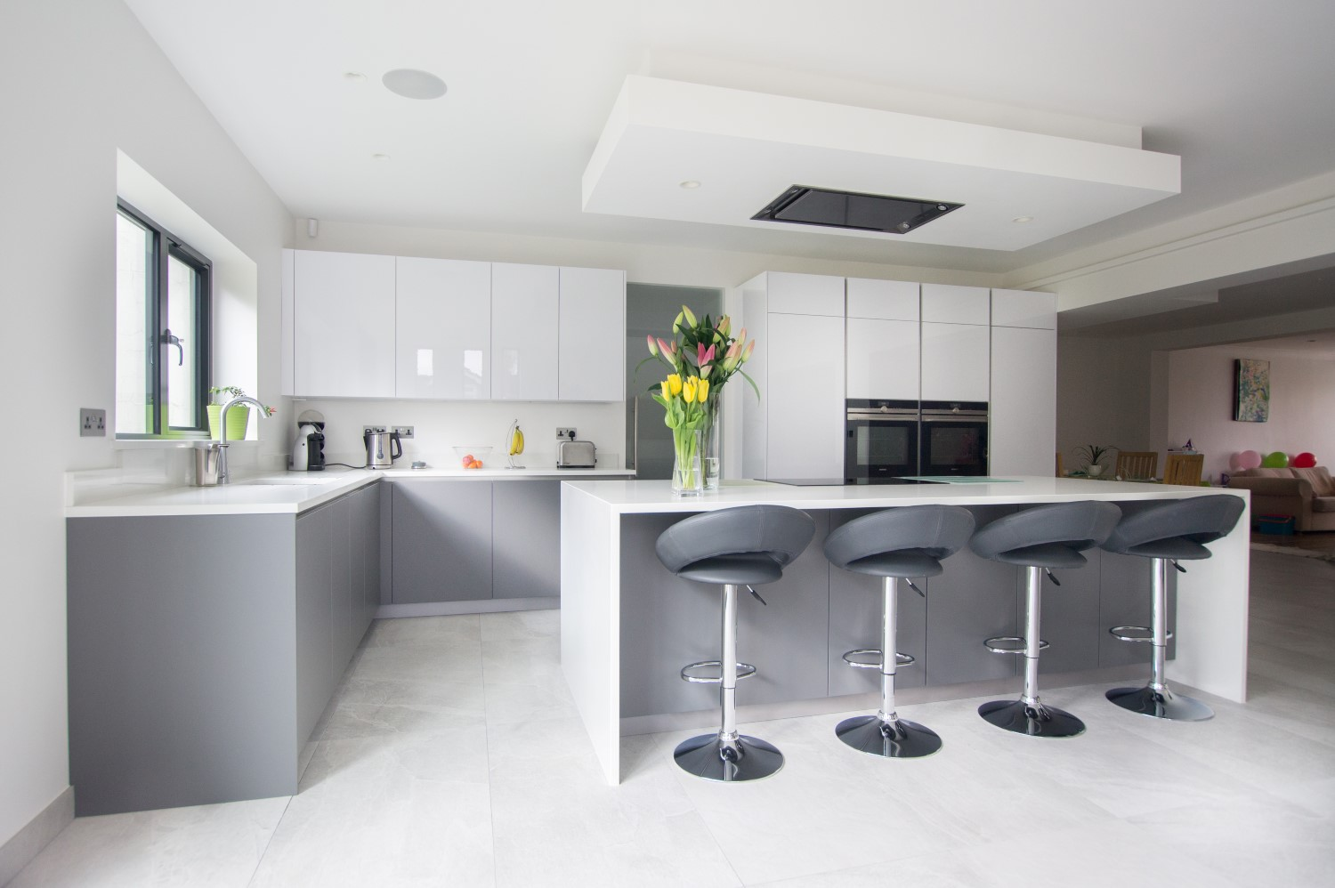 White Kitchen Worktop Ideas