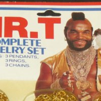 Mr. T jewelry starter kit: gold(en) chains and bling rings