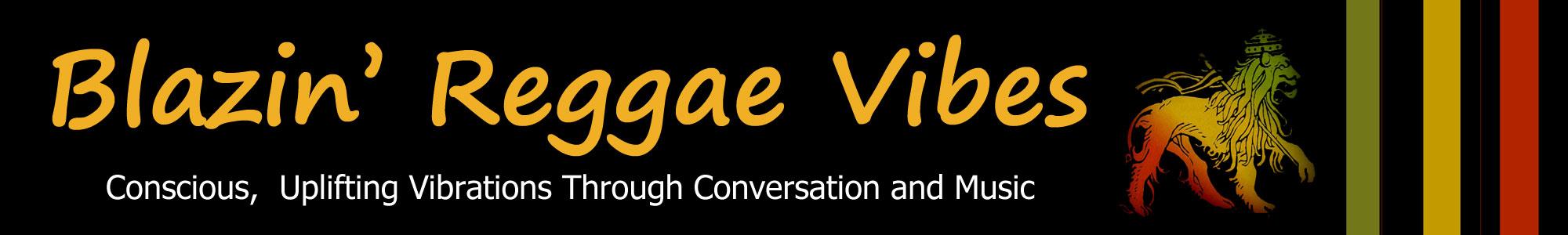 Blazin' Reggae Vibes Logo