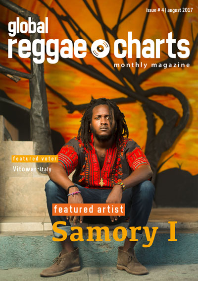 Global Reggae Charts Front Cover