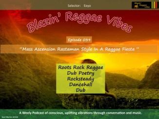 Blazin' Reggae Vibes - Ep. 039 Poster