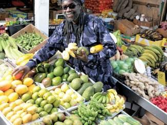 Macka B at the market photo